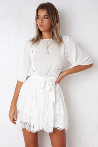 Lille Dress - White