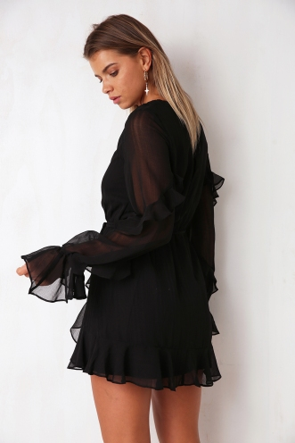Skylight Dress - Black