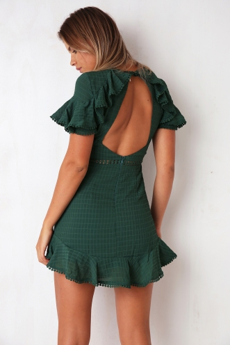 Love and Devotion Dress - Green