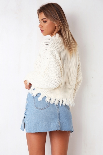 Under The Surface Jumper - Cream