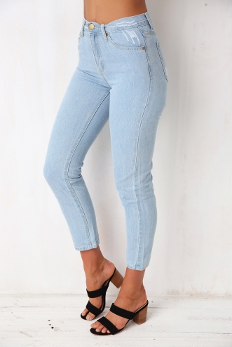 Oasis boyfriend jeans- Light blue wash
