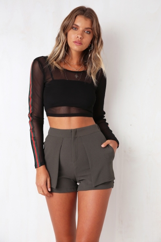 Extra Mile Top - Black