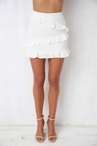With You Skirt - Off White