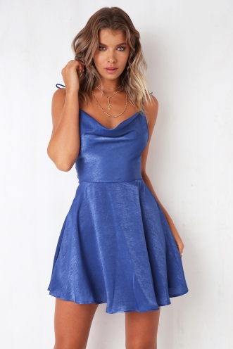 By The Ocean Dress - Blue