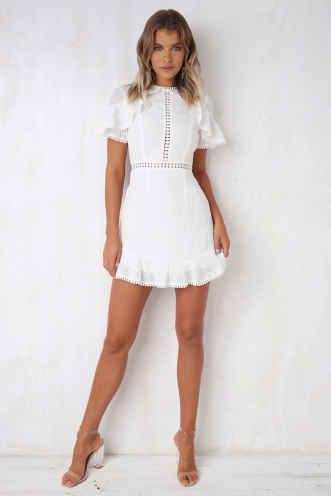 Love and Devotion Dress - White
