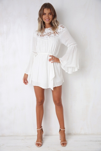 Wildest Dreams Dress - White