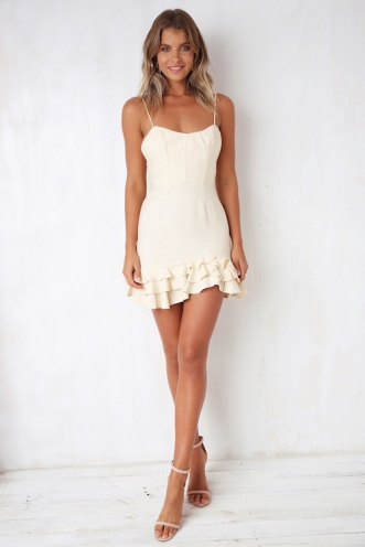 Nicole Dress - Cream