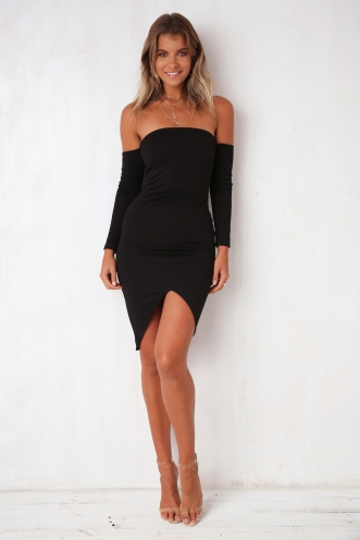 Come Home Dress - Black