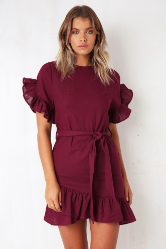 Kate Dress - Plum