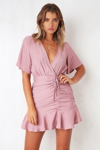 Picture Us Dress - Pink