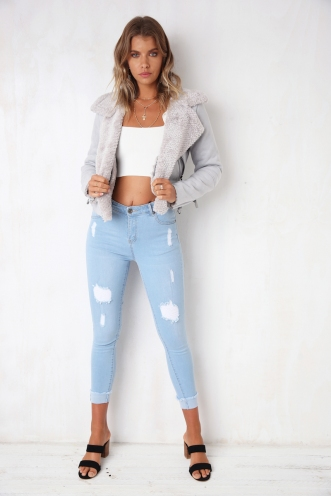 Bomb As Jacket - Grey