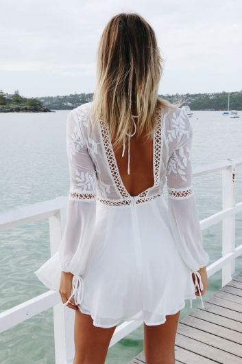 Made With Love Dress - White
