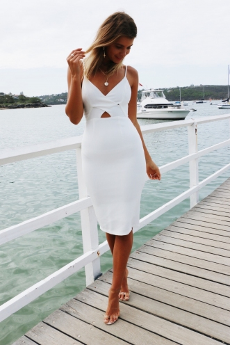 Brooke Dress - White