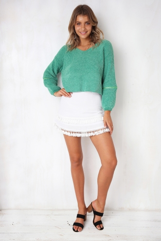 New Look Chenille Jumper - Green