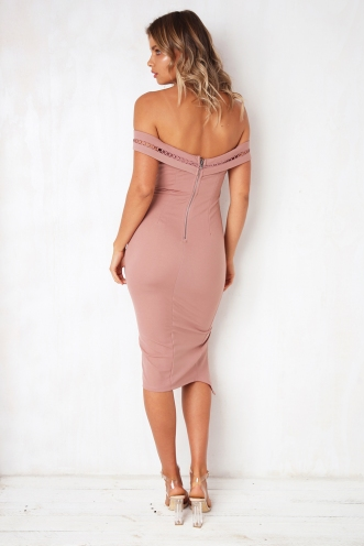 Come Away With Me Dress - Pink