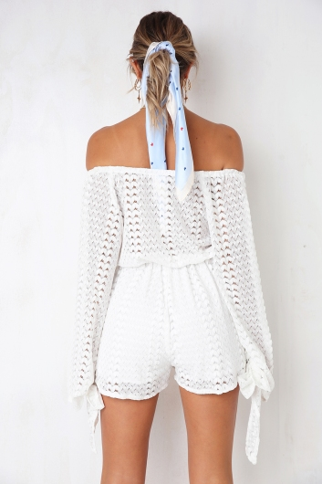 Kiki Playsuit - White
