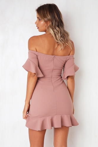 Girls Girls Girls Dress - Pink