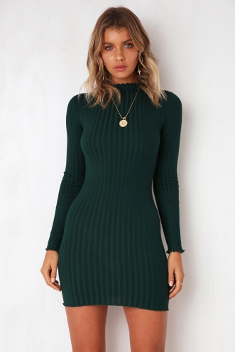 Lucky Charm Dress - Green