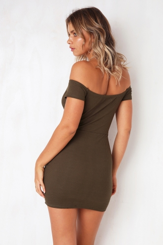 Go Home Dress - Khaki