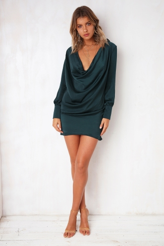 Beautiful Nightmare Dress - Green