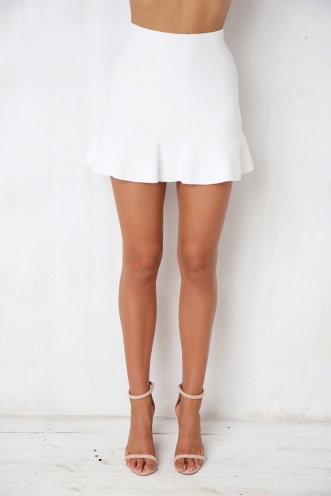 Daisy Skirt - White
