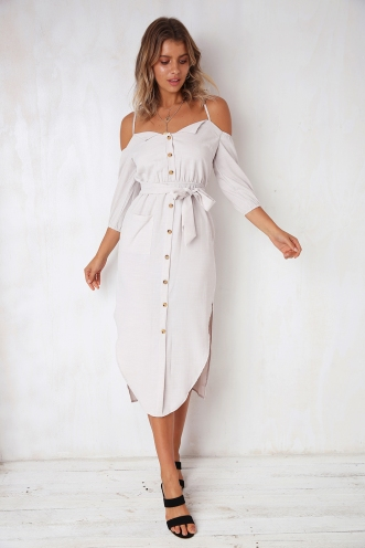 Ashley Dress - Ivory