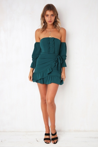 Ginny Dress - Green