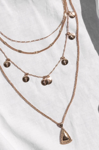 Minc Collections - Hidden Valley Necklace - Rose Gold