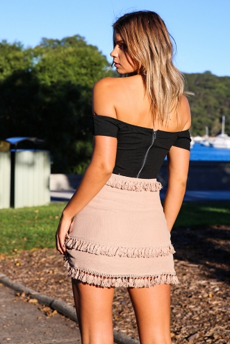 Into The Day Top - Black