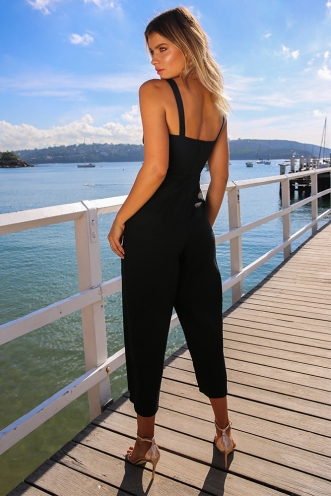 One And Only Jumpsuit - Black