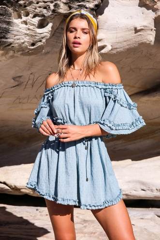 Cute As Can Be Dress - Sage