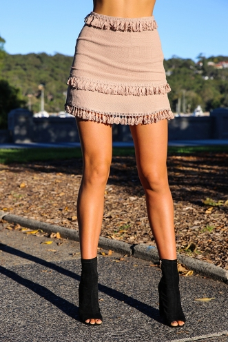 Forever Young Skirt - Beige