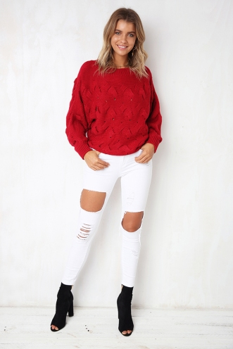 Pride And Joy Jumper - Red