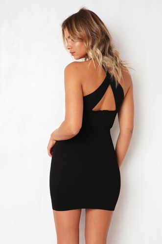 Hold Me Dress - Black