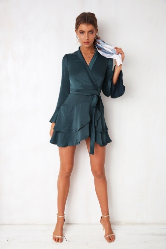 Irresistible Dress - Green