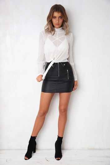 Night Shift Skirt - Black