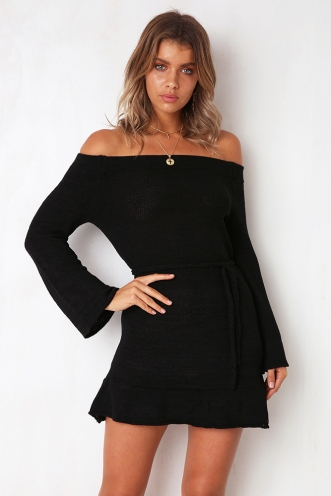 Island Dreaming Dress - Black