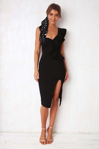 Close To Me Dress - Black