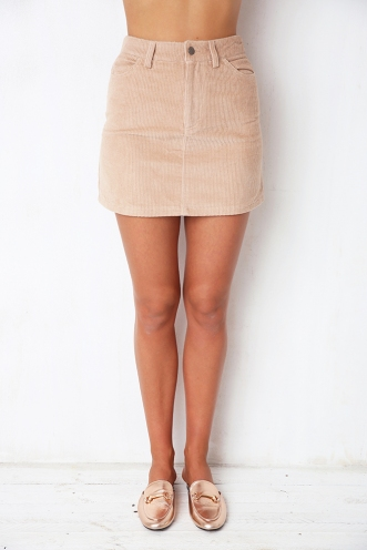 Control You Skirt - Beige