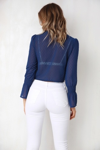 Fading Top - Blue