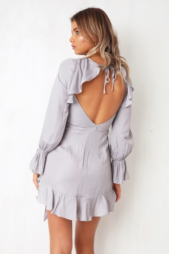 Thought About You Dress - Silver