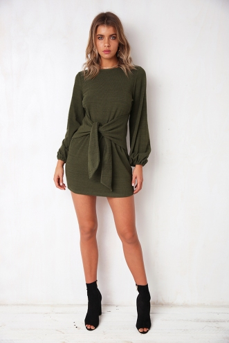 Upstate Drive Dress - Khaki