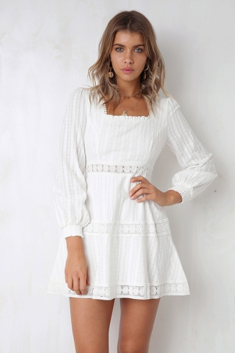 Love and Lust Dress - White