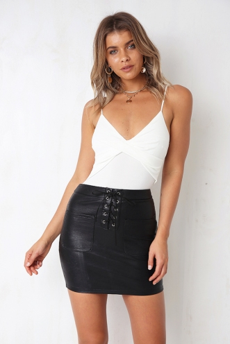 Good Omens Skirt - Black