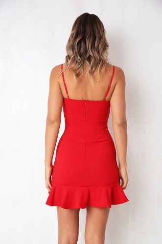 Daybreak Dress - Red