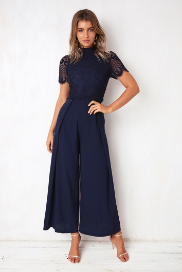 Oh My Jumpsuit Navy Stelly