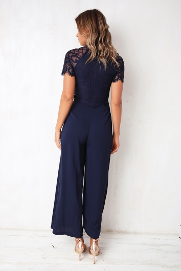 Oh My Jumpsuit - Navy