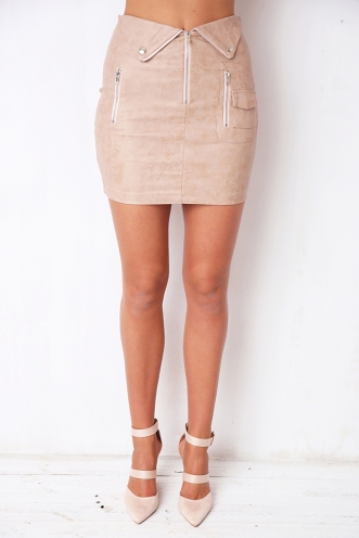 Night Shift Skirt - Tan