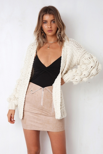 Cloud Cover Cardigan - Off White