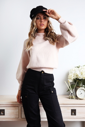 Best For You Jumper - Beige